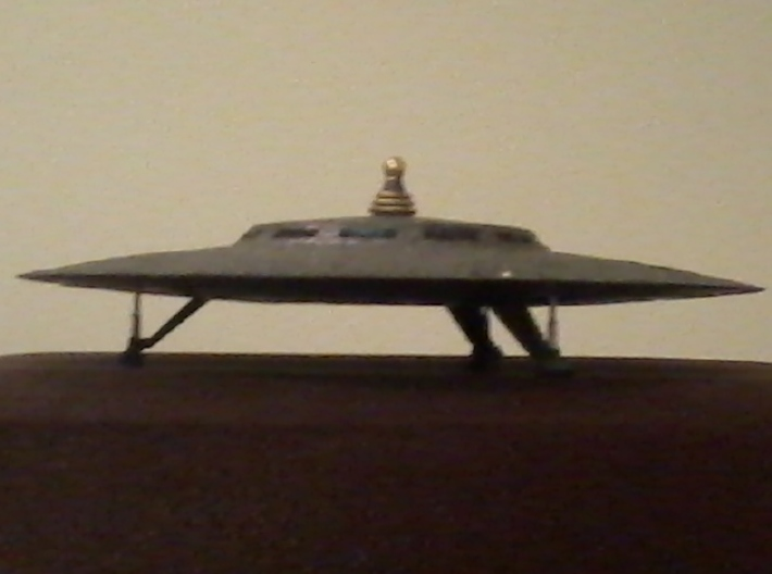 Bernalillo UFO Sighting 5 Inch-Kit-V3 3d printed A darker metalic finish