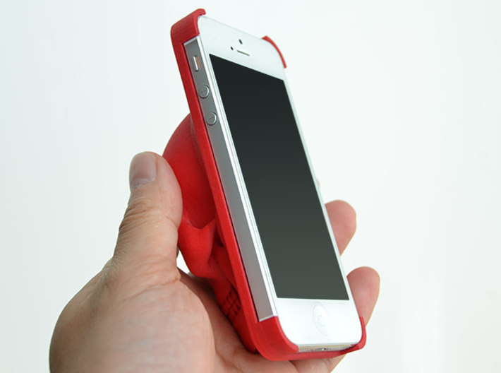 Skull iPhone 5 Case 3d printed