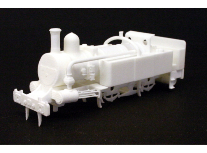 District Railway A Class 3d printed Front view of the assembled model