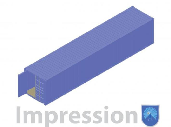 40ft shippingcontainer type B 3d printed Impression of a shipping container type B