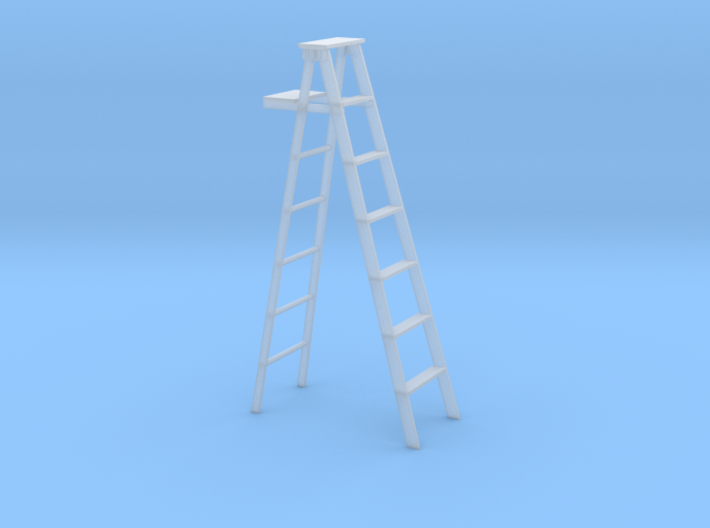 S scale step ladder 3d printed