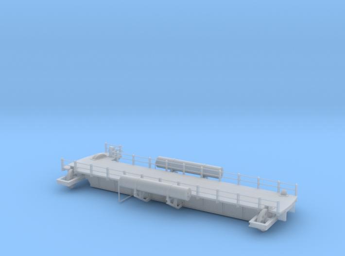 Locomotive turntable bridge for N 3d printed