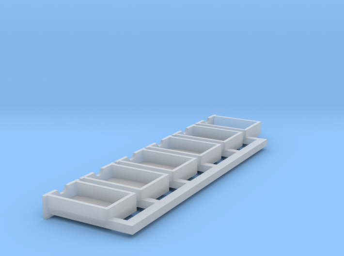 S scale drawers 3d printed