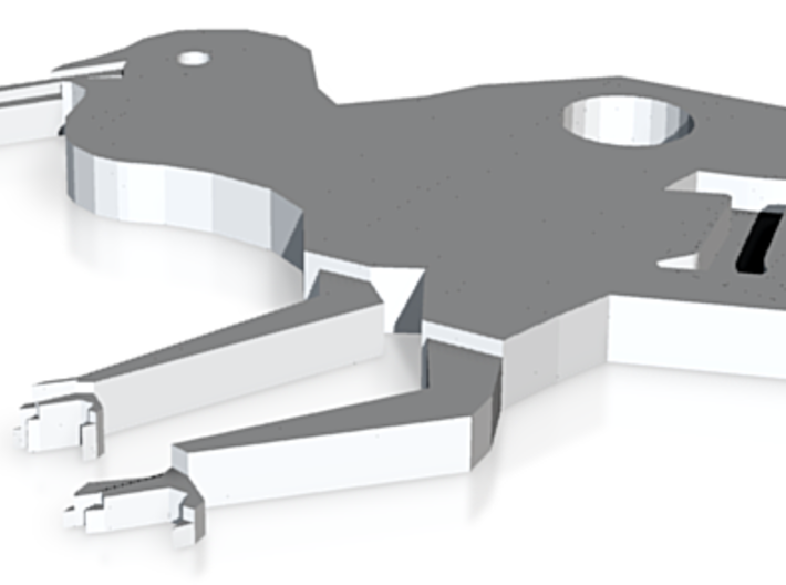 Kiwi Pendant 3d printed