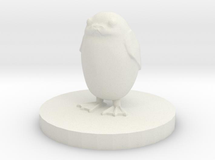 Porg 3d printed