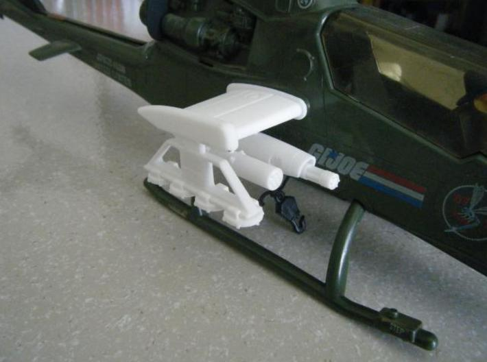 Dragonfly/Locust Gatling Pod 3d printed Description