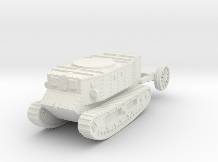 1/72 Little Willie tank 3d printed