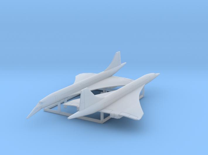 1/700 Concorde x2 (FUD) 3d printed