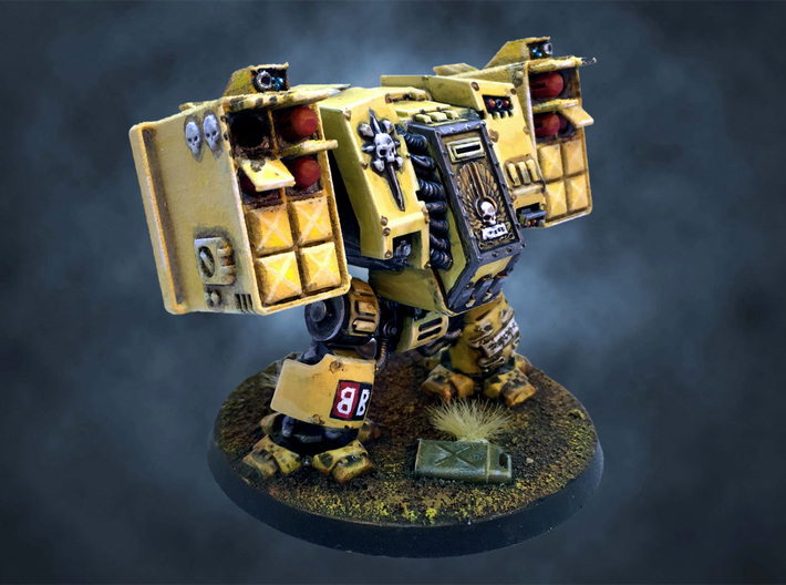 Dreadnought Missile launcher arms, customizable 3d printed Dreadnought Missile launcher arms