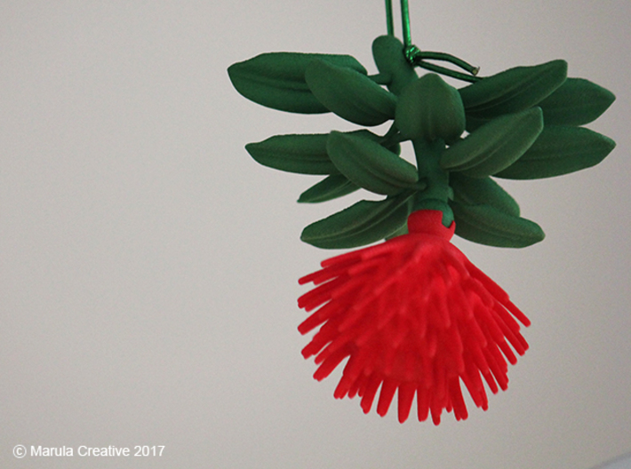 Pohutukawa Flower Christmas Tree Of New Zealand Sjmfwcan3 By Ularm