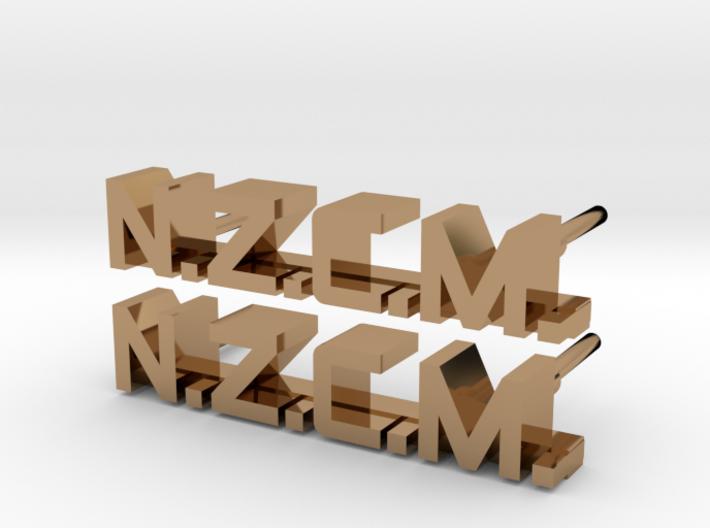 ALIENS: NZCM Enlisted Collar Pin Badge Set 3d printed