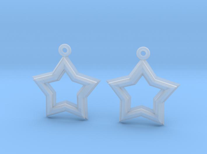 Star-Crossed Earrings 3d printed