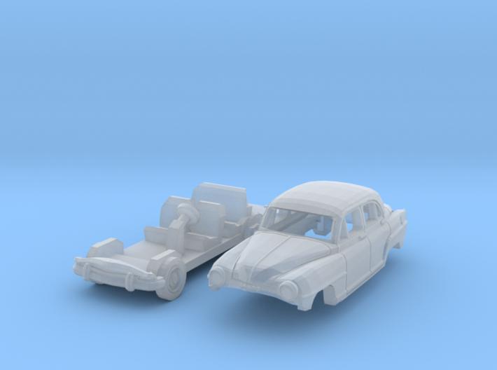 Simca Aronde 1300 (N 1:160) 3d printed