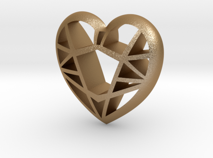 Lowpoly Heart by it's a CYN! 3d printed