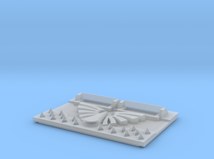 Blood Wing : M2a Troop Tank Front 3d printed