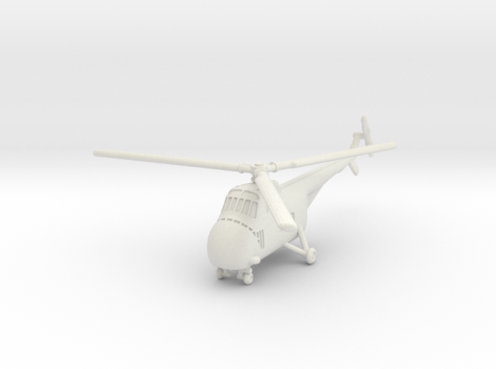 Sikorsky H-19 Chickasaw (S-55) 1/200 3d printed