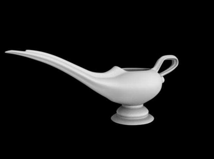 Aladdin Lamp 3d printed Rendered