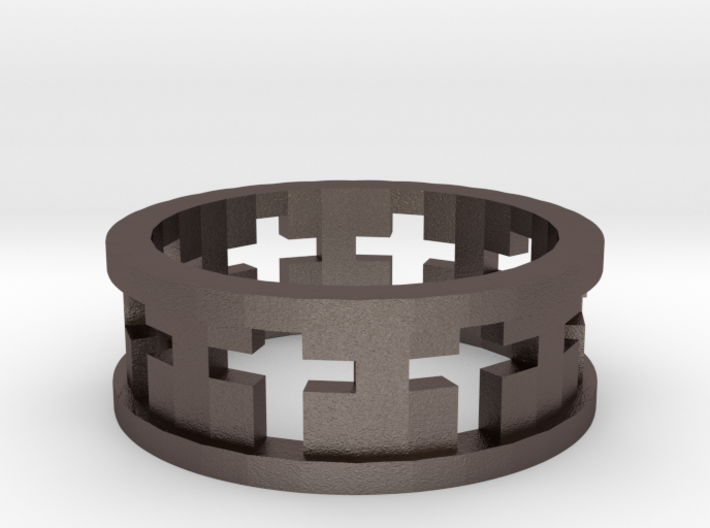 Cross Ring 3d printed