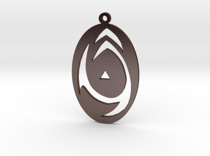 Sigil of Tzeentch cutout 3d printed