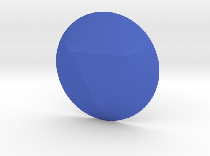 Triangle Gem 3d printed