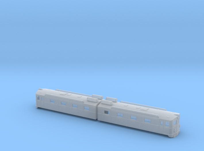 Swedish SJ electric locomotive type Dm in original 3d printed