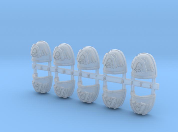 Reaper 2 V.7 Shoulder Pads x10 3d printed