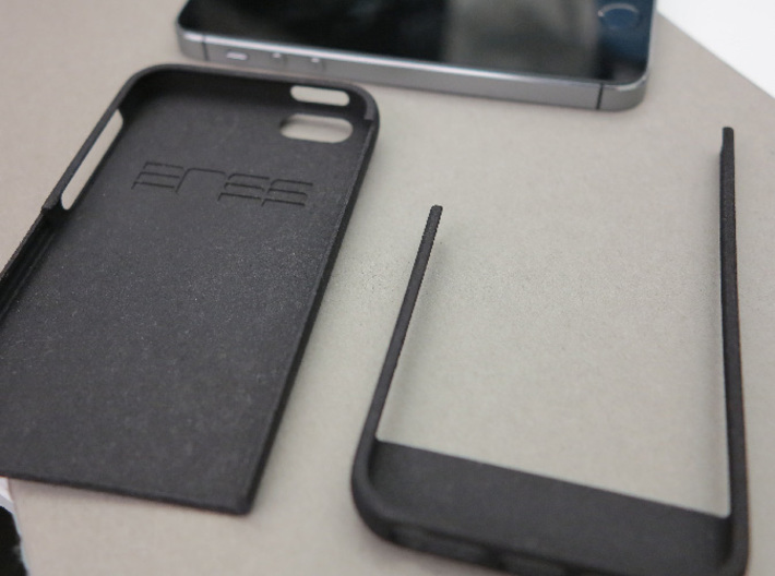 slim case for iPhone 5/5s - Top 3d printed Disassembled case
