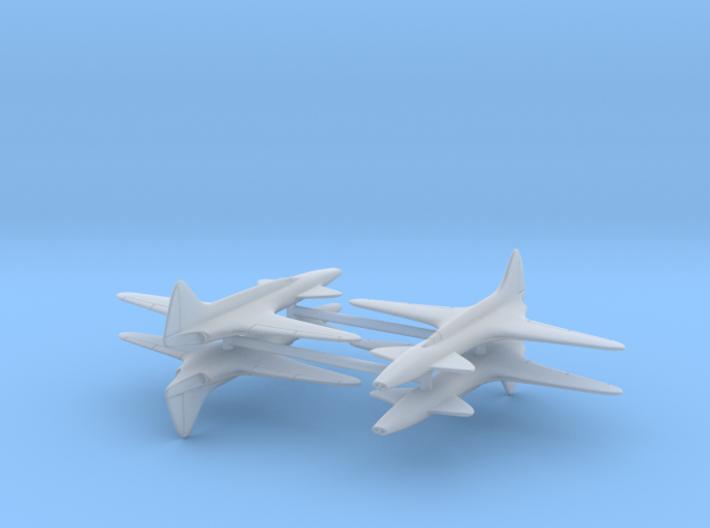 (1:350) Lockheed L-133 (x4) 3d printed