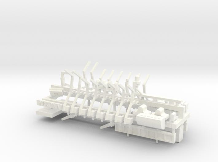 MS Arkona, Details (1:200, RC) 3d printed