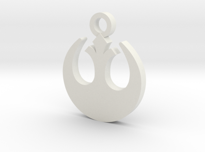 Rebel Forces Charm 3d printed