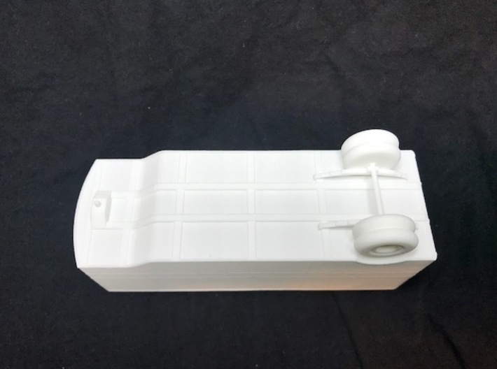 ET&WNC Trailer Ho Scale without Roof 3d printed