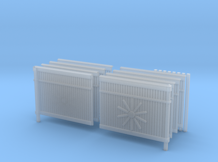 1/35 Scale Russian Fence Pack 3d printed