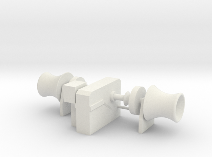 Anchor Winch 1/75 fits Harbor Tug 3d printed