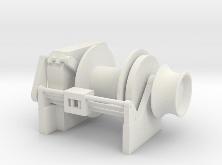 Tug Winch 1/50 fits Harbor Tug 3d printed