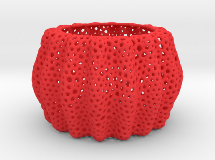DRAW bowls - orchid pot container 3d printed