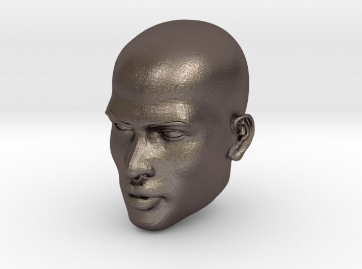 Male head 3d printed