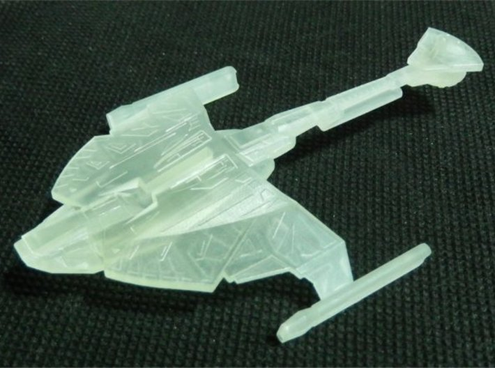 1/2500 D9 Cruiser Z'Gal (with support) 3d printed Printed in FUD