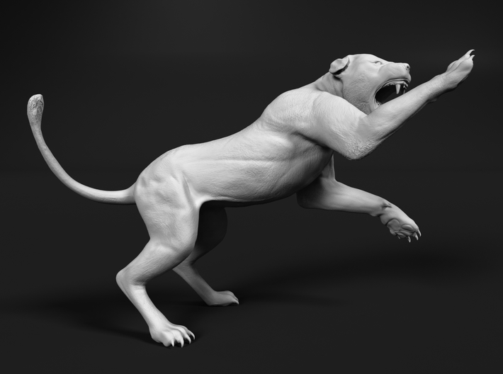 Lion 1:87 Striking Lioness 3d printed
