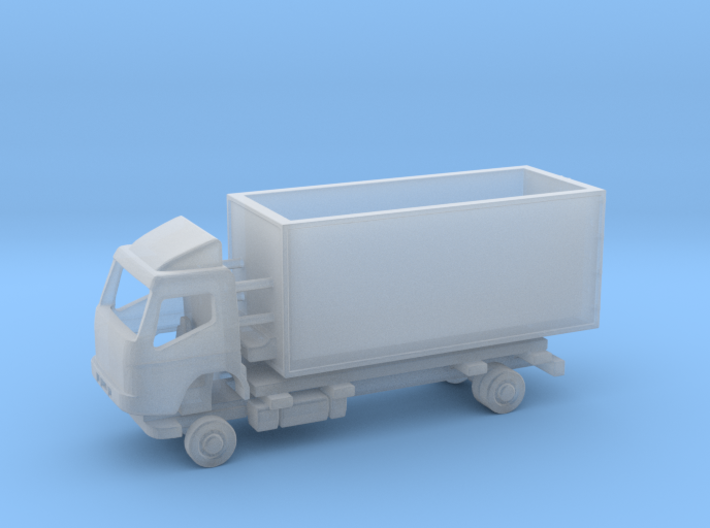 N Gauge Mitsubishi Fuso Fridge LWB Kit 3d printed