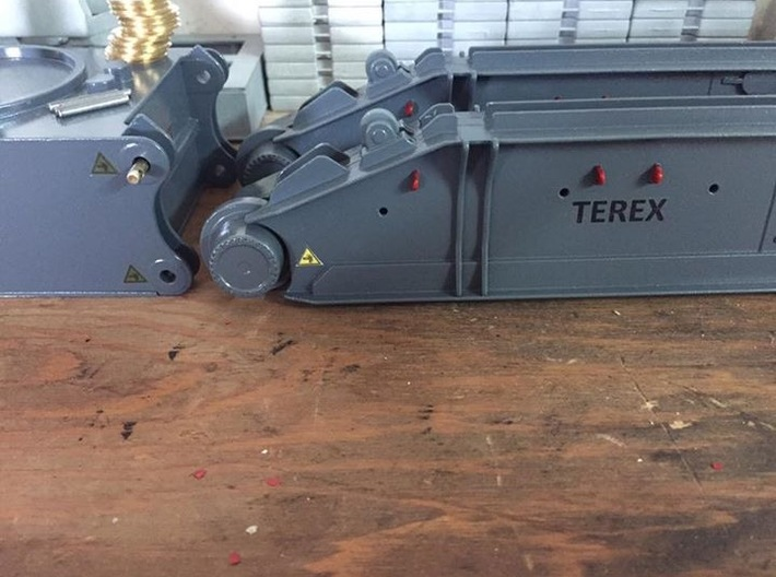 TEREX-DEMAG CC8800 Crawler Unit 3d printed