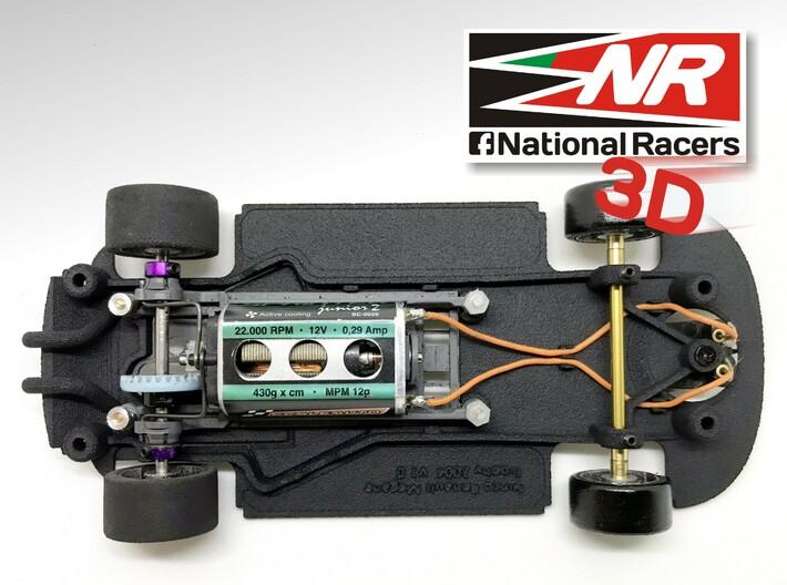 3D Chassis - Ninco Renault Megane 2004 - Combo 3d printed