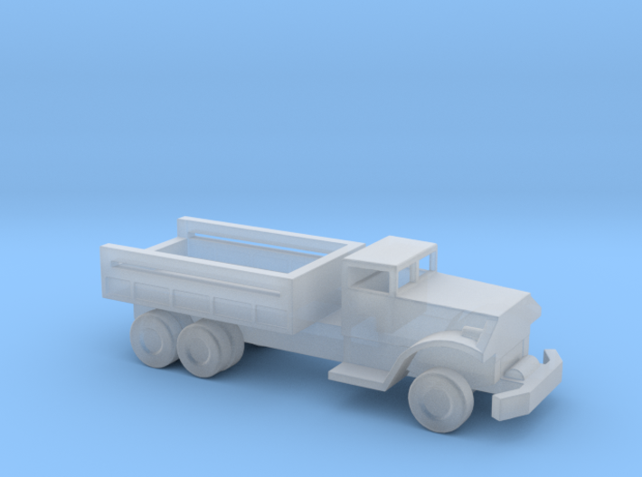 1/144 Scale White 666 Cargo Truck 3d printed