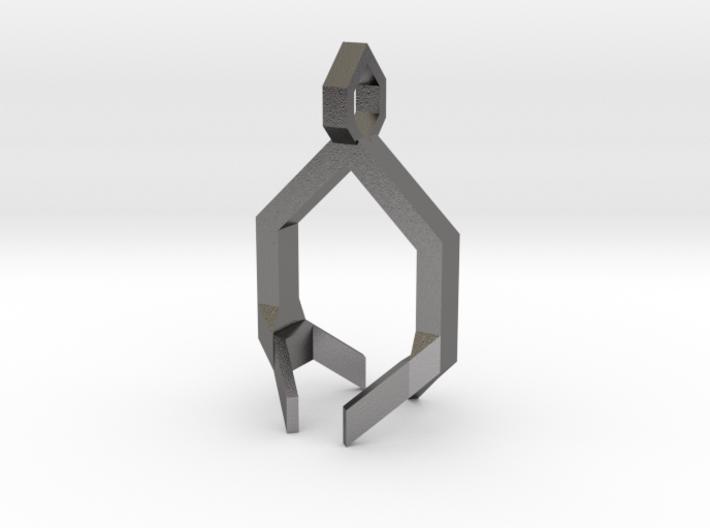 Crystal Pendant Part 2 3d printed