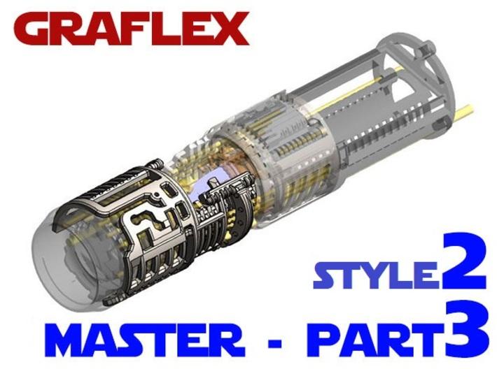 Graflex Master Chassis - Part 3/5 Var2 - Shell2 3d printed