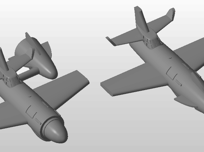 (1:285) Sombold So344 (Detachable nose section) 3d printed