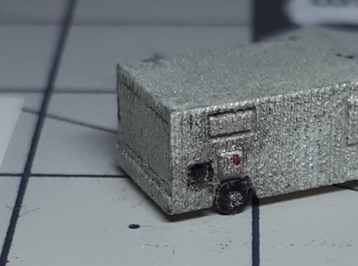 AC25D air conditioning unit ACU 3d printed