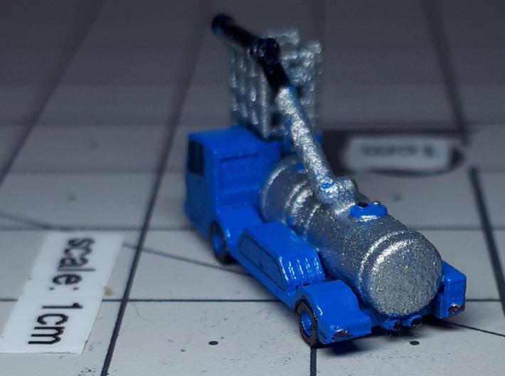 Lavatory Truck ver1 3d printed