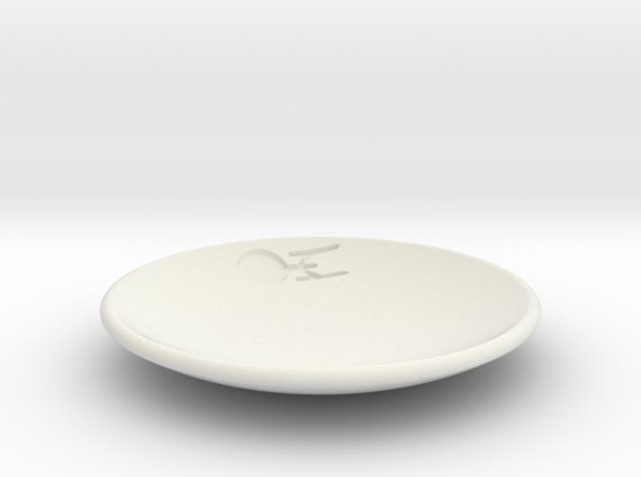 Enterprise Dish 3d printed