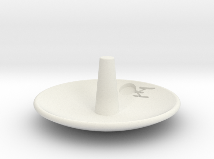 Enterprise Jewelry Dish 3d printed