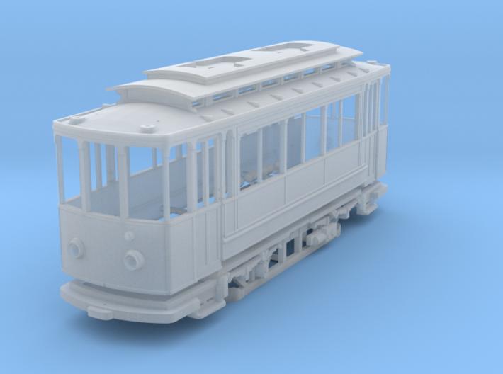 (H0m) - Herbrand Triebwagen mit Lyrabügeln 3d printed